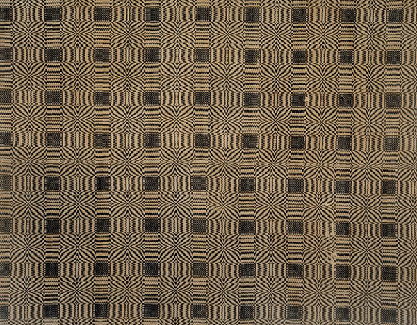 Coverlet from the early 19th century.