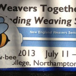 New England Weavers Seminar 2013