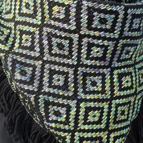 Black/Indiecita Kerchief Detail