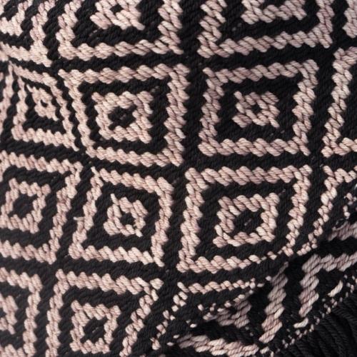 Black/Sand Bank Kerchief Detail