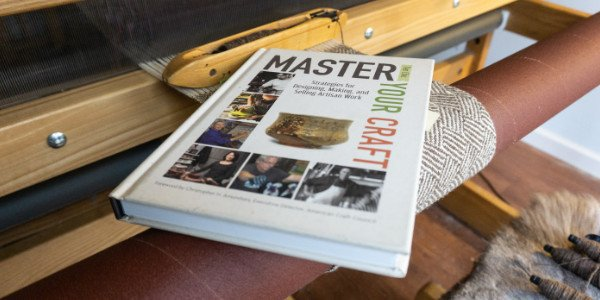 Master Your Craft Book on a Loom
