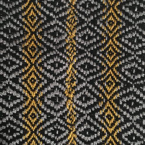 Hope Neck Kerchief Panel Seam Closeup