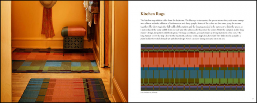 Interior Pages of Custom Woven Interiors by Kelly Marshall : Kitchen Rug